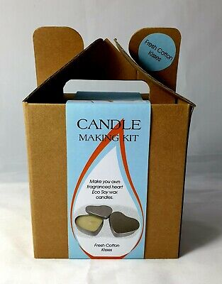 Candle Making Kit In Gift Box-Fresh Cotton