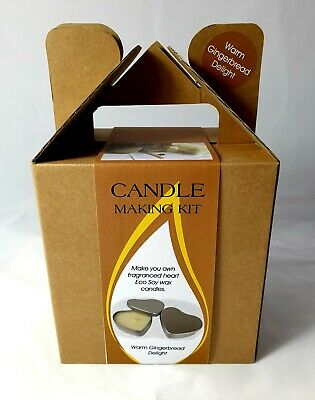 Candle Making Kit In Gift Box-Gingerbread