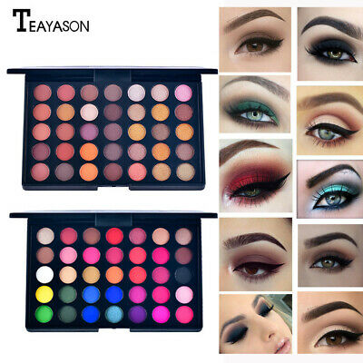 35 Colors Pro Shimmer Matte Eye Shadow Eyeshadow Palette Cosmetic Makeup Tool