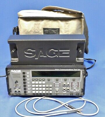 Sage 930A Communications Test Set Non-Functional