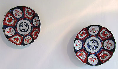 A Matched Pair of Japanese Meiji Period (c 1868-1912) Imari Chargers from Arita