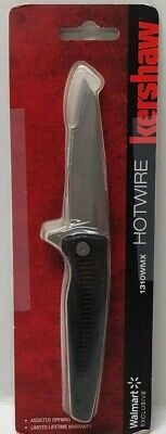 """Kershaw Hotwire 1310WMX Assisted Opening Knife 3"""" Blade 3Cr13 Steel Nylon Handle"""