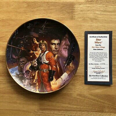 The Hamilton Collection Star Wars Trilogy Plate - Star Wars