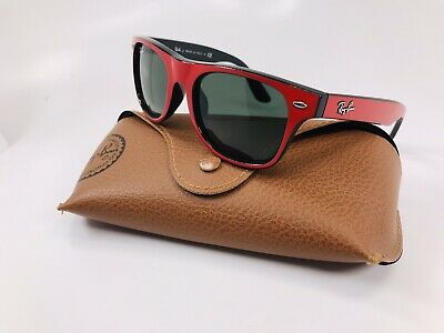 🔸NEW Ray Ban Junior KIDS RJ 9035-S 162/71 Red & Black Sunglasses  with Case