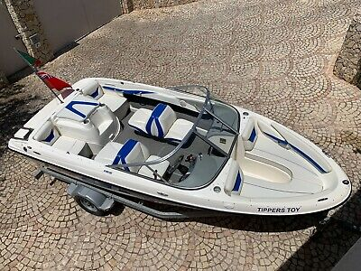 bay liner 185 speed boat  cruiser ski boat  very low hours  immaculate condition