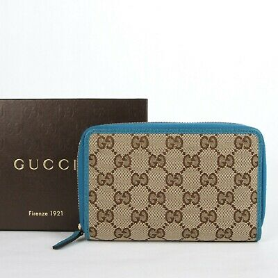 sports shoes ede82 70b92 GUCCI WOMEN'S GG canvas leather Continental wallet - $275.00 ...