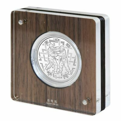 Japan 2020 Olympic Games Tokyo 1000 Yen Silver Judo Proof Coin