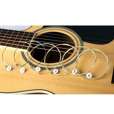 Universal Acoustic Guitar String Brass Steel Core Strings for Musical Instrument