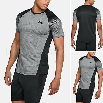 Men's Under Armour MK-1 Dash Printed Left Chest HeatGear Ultra Soft Gym T Shirt