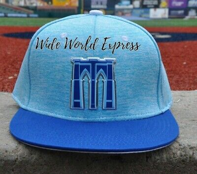 12df3f483 BROOKLYN CYCLONES BABY Blue And White BC LOGO BASEBALL HAT BALL CAP ...
