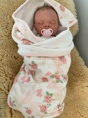 """Teena"" Authentic Bountiful Baby REBORN Doll- 15"" Realistic Preemie"