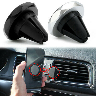 1x Car Magnet Magnetic Phone GPS Holder Air Vent Clip Stand Mount Accessories
