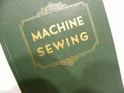 Rare edition 1950 SINGER Machine Sewing Textbook 15 99 221 222 201 301 401 403