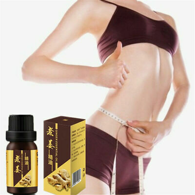 New Miracle Ginger Oil Strong Effect Anti-Cellulite Essential Body Wrap Slimming