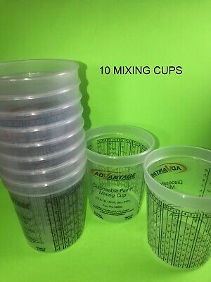 10 Paint Mixing Cups Quart Why buy Devilbiss, PPG or EZMix #90080