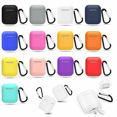 AirPods Silicone Case Cover Protective Thick Skin for Apple Airpod Charging New