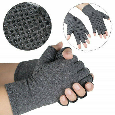 Magnetic Arthritis Gloves Compression Wrist Hand Support Brace Joint Pain Relief