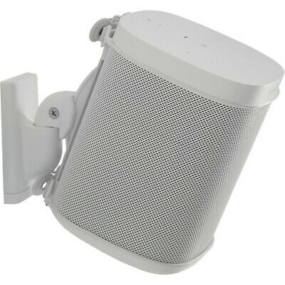 Sanus WSWM21W For Sonos One Play 1 & 3 Spks Single White-suits Most Brands