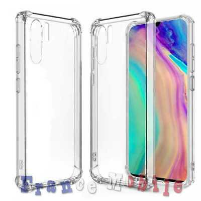 Coque Silicone Gomme Protection Antichoc Shockproof Bumper pour Huawei P30 Pro