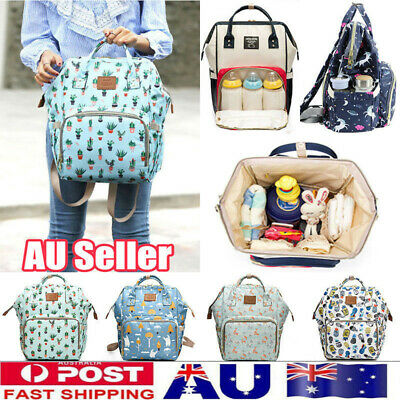 Waterproof Mummy Portable Maternity Nappy Diaper Large Capacity Travel Backpack