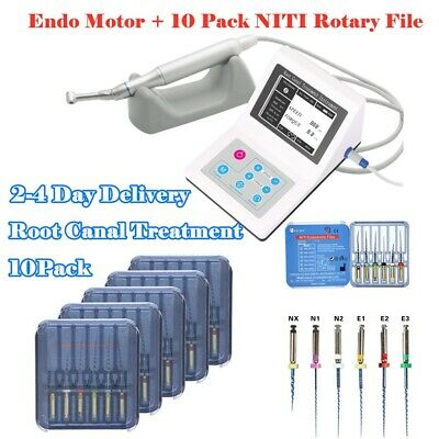 CICADA Dental Reciprocating Endo Motor + 10PC 25MM Root Canal Endodontic Files