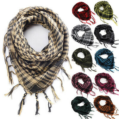 Tactical Keffiyeh Shemagh Arab Scarf Shawl Military Army Desert Head Neck Wrap