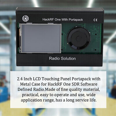 """2.4"""" LCD Touching Panel Portapack for HackRF One SDR Software Defined Radio"""