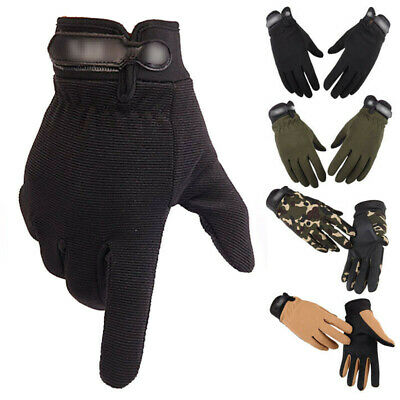 Tactical Full Finger Gloves Men's Military Army Athletic Assault Hiking Security