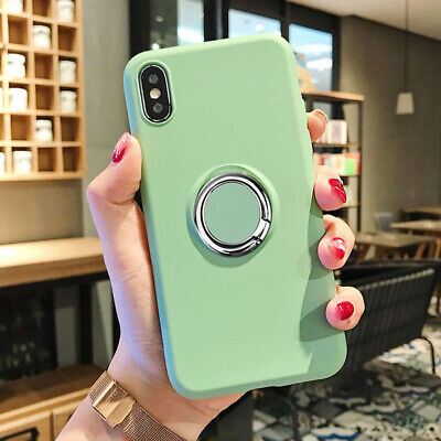 Ultra Glossy Thin Soft Liquid Silicone Case Phone Cover For iPhone Xs Max 8 Plus