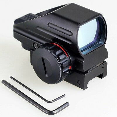 Holographic Tactical 4 Reflex Red Green Dot Scope Sight Rifle Picatinny Rail AU