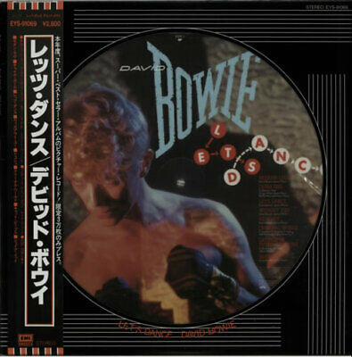 David Bowie Lets Dance + Lyric Inse... picture disc LP vinyl  record JPN