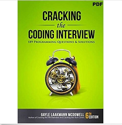 Cracking the Coding Interview 6th Edition 189 Programming questions & solns. PDF