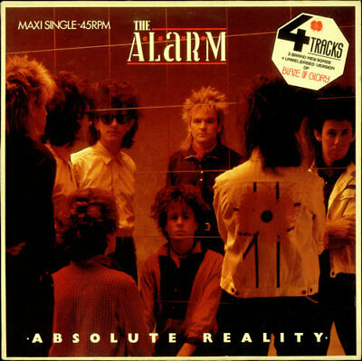 "Alarm 12"" vinyl single record (Maxi) Absolute Reality Dutch A12.6084 IRS 1985"