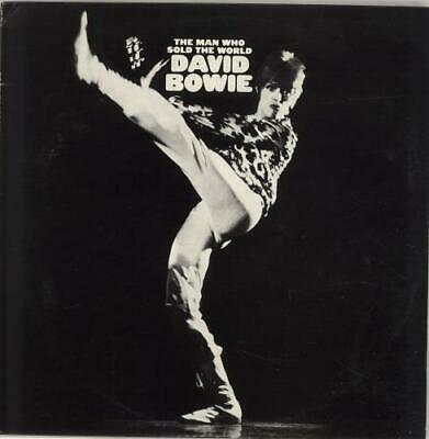 David Bowie The Man Who Sold The World - 1st + I... vinyl LP  record CAN