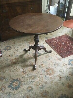 Antique Georgian Chippendale Mahogany Wine Table