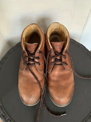 VTG MENS TIMBERLAND Moccasin Brown Shoes Size 11 M $17.99