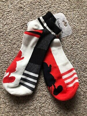 Disney Parks Mickey Mouse Body Parts Adult Socks New with Tags