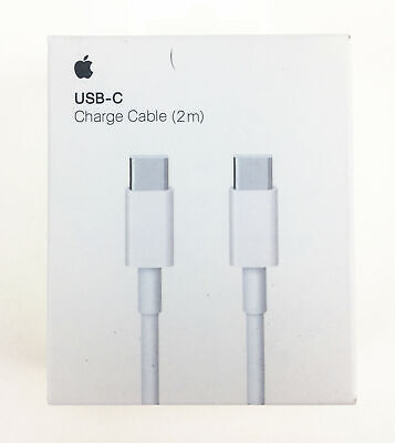 NEW Genuine Apple USB-C Charge Cable (2 m) A1739 for iPadPro  MacBook MLL82FE/A
