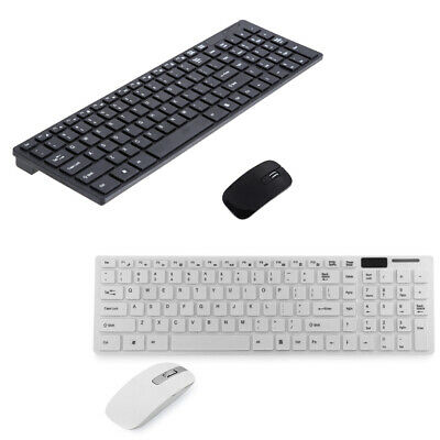 2.4G Optical Wireless Keyboard and Mouse USB Receiver for PC Computer