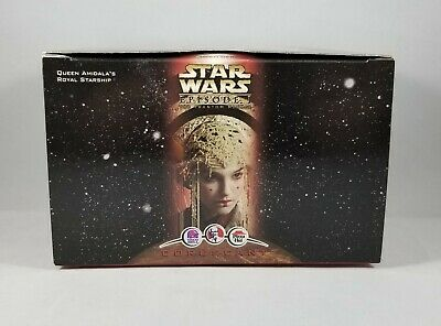 STAR WARS  Episode 1 Queen Amidala's Ship CORUSCANT KFC Taco Bell Figurine