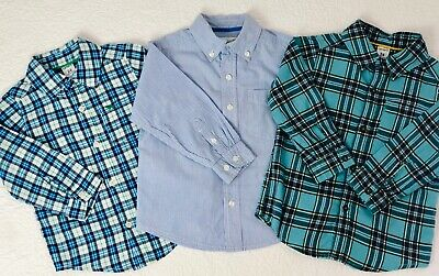 Childrens Place, Carters Toddler Boys 3 Pc Lot Long Sleeve Dress Shirts Size 24M