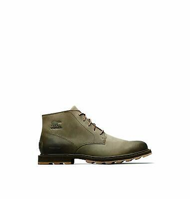 fa2736a6ba7 SOREL MENS MADSON Chukka Waterproof Boot Quarry Fawn Size US 10.5M ...