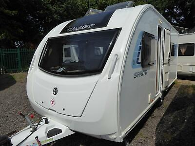 Swift Sprite Major 4 SR 2013 - 4 Berth Large Centre Dinette - Touring Caravan