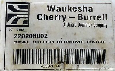 Waukesha 220206002 Outer Chrome Oxide Seal.
