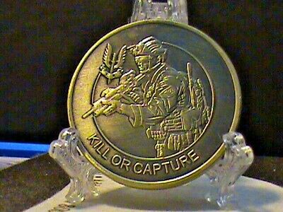 U.S.~Kill OR Capture~Special Air Service~Who Dares Wins~Challenge Coin &