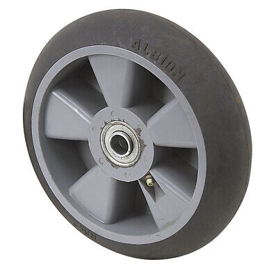 """8"""" x 2"""" Albion Thermoplastic Rubber Wheel XR0822710H 1-4842"""