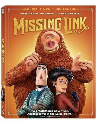 Missing Link Blu-Ray/DVD/Digital HD Brand New & Sealed W/ Slipcover