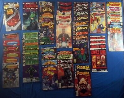 COMIC LOT - DC Sets & Miniseries- 13 Sets- 57 Books All FN+, See Pics
