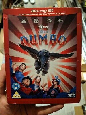 Dumbo 2019 (Blu-ray 2D/3D) BRAND NEW!! DISNEY
