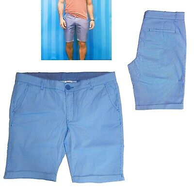 Rayé Homme Chino Bermuda Short Shorts pour Hommes Gr. 52